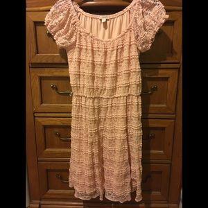 DB Established 1962 pink lace dress